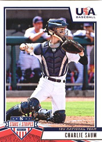 2019 Panini Stars and Stripes #63 Charlie Saum USA Baseball 15U National Team Baseball Card
