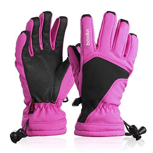 - HiCool Kids Ski Gloves, Winter Snow Gloves Boys Girls Insulated Thermal Gloves