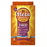 Metamucil Multi-Health Psyllium Fiber Supplement Sugar-Free Powder, Orange Flavored, 180 Servings