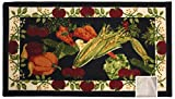 Kashi Home Harvest Series Kitchen Rug 20'' X 40'' Rectangle Kitchen Mat with Latex Back