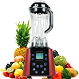 New Age Living BL1800 LCD | Touch Panel Digital Soup & Smoothie Blender | 3.5HP Peak Power | Blends Frozen Fruits, Vegetables, Greens, even Ice | 5 Year Warranty (Red) review