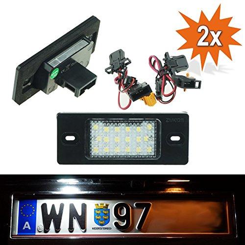 DO!LED - Luci per targa a LED con marchio di omologazione E LP-PSK2
