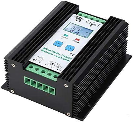 Zoternen Wind- und Solarenergie Hybrid Controller Digital Intelligent Control Boost Laderegler 16,5 x 14,2 x 6,7 mm