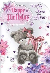 Especial Mam Tarjeta de cumpleaños–'happy Birthday To A Special Mam'