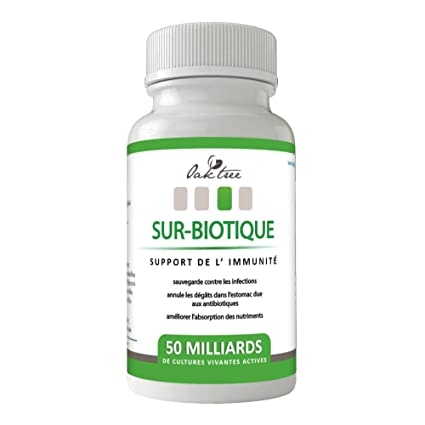 Oak Tree Probiotics Daily 50 Billion helpful & Friendly Active Bacteria by Oak Tree