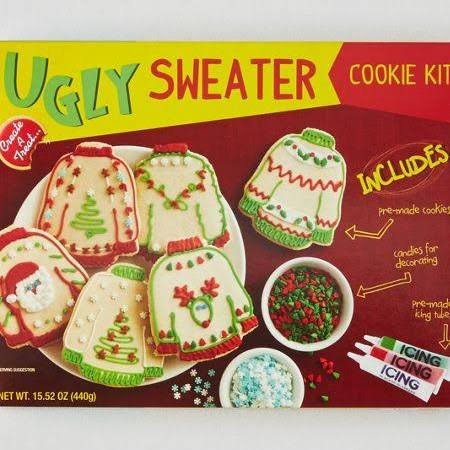 Ugly Sweater Cookie Kit (1 kit)