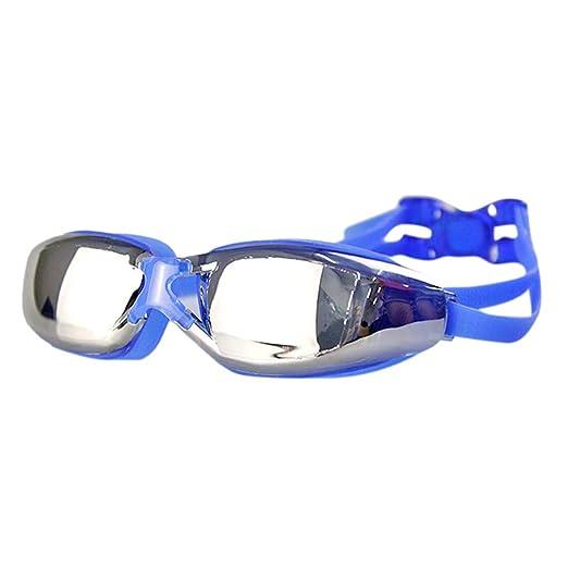 3f25037ee8 Islandse💖💖Unisex Adult Swimming Diving Googles Glasses Anti-Fog UV  Protection Eyewear (