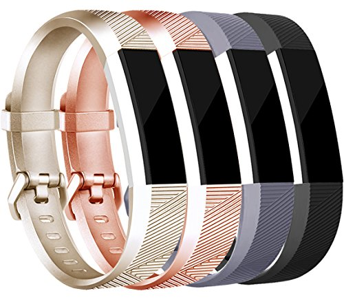 Tobfit for Fitbit Alta HR/Fitbit Alta Bands Large Small Straps Varied  Colors and Editions for Fitbit Alta HR Fitbit Alta (( Buckle Edition)