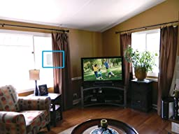 Winegard FlatWave FL-5000 Indoor HDTV Antenna (Digital OTA TV Antenna / High-VHF / UHF / Ultra-Thin / Black and White - Reversible) - 35 Mile Long Range