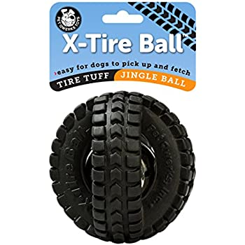 Amazon Com Hartz Dog Toy Rubber Ball With Bell Assorted
