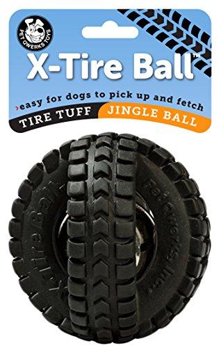 Pet Qwerks Jingle X-Tire Ball Dog - Balls Ball Tire Tire