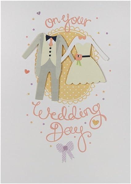 Hallmark - Tarjeta de felicitación para boda (tamaño mediano, en ...