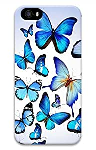 iPhone 5S Case, iPhone 5 Cover, iPhone 5S Butterflies 3 Hard Cases