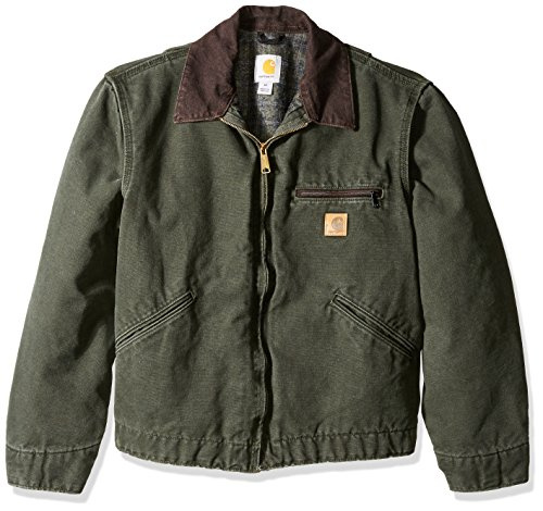 j97 Carhartt Duck Detroit Jacket - 1
