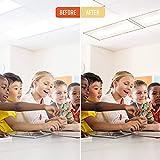 GlareShade Fluorescent Light Filter Diffuser Covers