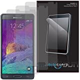MiniGuard HD Screen Protector for Samsung Galaxy Note 4 (3x Pack, Anti-Glare)