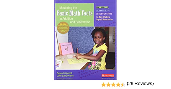 Amazon.com: Mastering the Basic Math Facts in Addition and ...