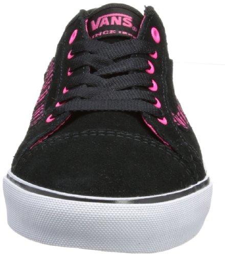 Vans W Devan - Zapatillas de Deporte de cuero nobuck mujer negro - Noir (Suede Black/A)
