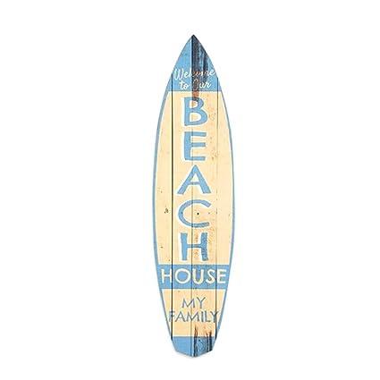 Rétro - Tabla de surf (madera, 47 cm)
