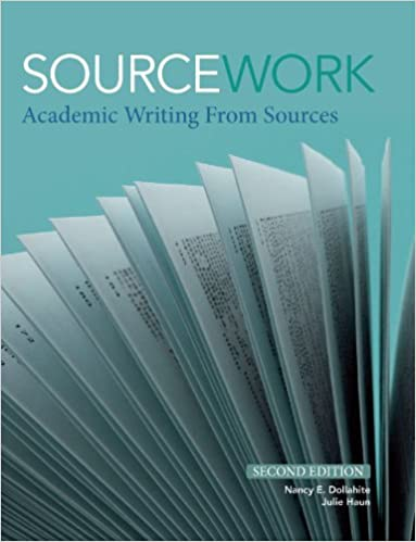 sourcework academic writing from sources 2nd edition