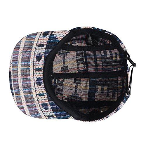 e7678029bf946 Hatphile Pattern Multi Color Stripe 5 Panel Hat