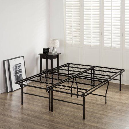 """Better Homes and Gardens 18"""" High Profile Smartbase Steel Mattress Foundation Bed Frame, Multiple Sizes (Twin, Full, Queen, King), Extra Under Bed Storage! Easy Assembly! (Twin) from Better Homes & Gardens"""