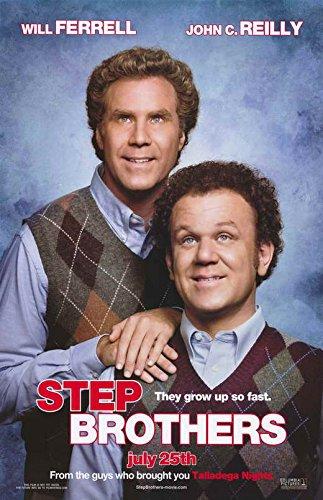 Step Brothers Movie POSTER 27 x 40 Will Ferrell, John C. Rei