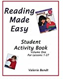 Reading Made Easy Student Activity Book One: A student workbook for Reading Made Easy