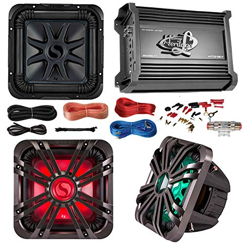 (Car Subwoofer And Amp Combo: Kicker 11S10L74 10