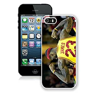 Fashionable And Unique Designed Case With lebron james 2 White For iPhone 5 5S Phone Case
