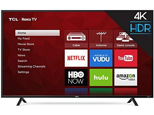 "TCL 55S403 LED 4K 120 Hz Wi-Fi Roku Smart TV, 55"" ..."