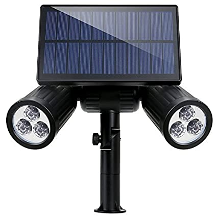 Amazon com: Garden light Solar light 2 light type 6 LED free