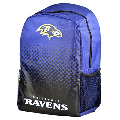 Forever Collectibles Baltimore Ravens verblasst NFL Rucksack