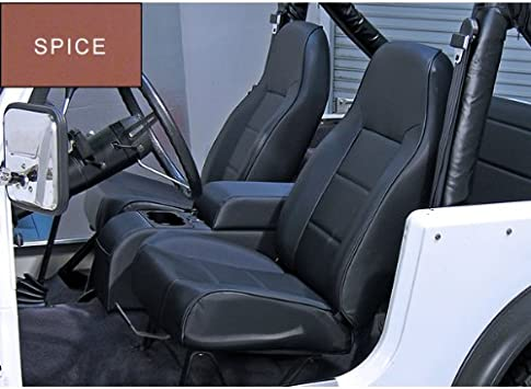 Rugged Ridge 13401.37 Standard Spice High Back Front Seat