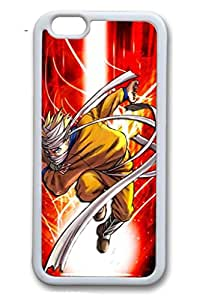 iPhone 6/6S Case,White,TPU(Soft plastic)Case For iPhone 6/6(be customized)Ultra Slim Case,Latest style Case[4.7 In]Ultra-thin Case Easy To Operate-Naruto Anime 330