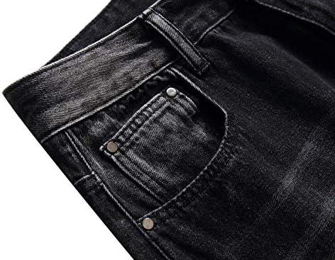 51CtutSMgIL. AC LAVIKS Men's Ripped Slim Fit Cozy Jeans    Product Description