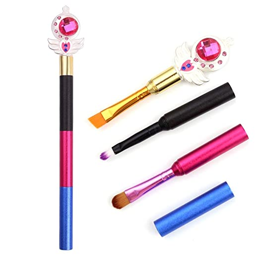 Best Quality - Eye Shadow Applicator - Pro Make Up Brush Custom Makeup Tools Eyebrow Eye Shadow lip brush Can Be Assembled Portative kits - by Mariahanan - 1 PCs
