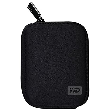 Western Digital My Passport Carrying Case - Black (WDBABK0000NBK-WRSN) Storage Accessories