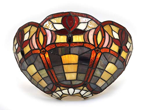 Outdoor Wall Light Stained Glass in US - 8