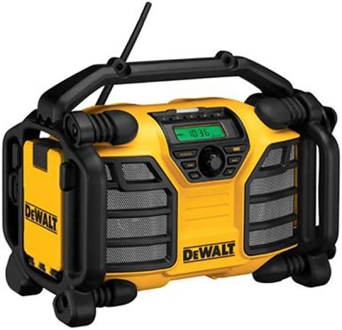 DEWALT 20V MAX/12V Jobsite Radio and Battery Charger (DCR015)