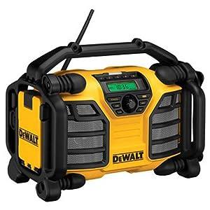 2. DEWALT DCR015 12V/20V MAX Worksite Charger Radio