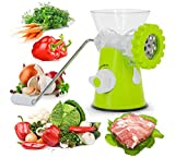 New Manual Meat Grinder Mincer Machine Sausage Table Crank Tool Cutter Slicer Beef Multifunctional Meat Slicer kitchen Tools