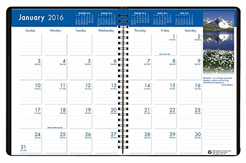 House Of Doolittle 2016 Monthly Calendar Planner  8 5  X 11   Earthscapes  Hod26402 16