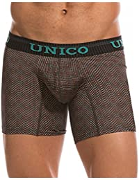 Microfiber Medium Boxer Briefs for Men Print Ropa Interior Masculina