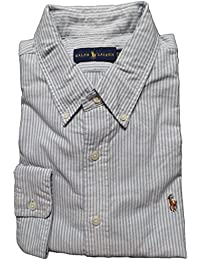 Men Solid Sport Oxford Shirt