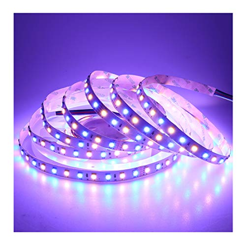 LEDENET 16.4FT Super BLEDENET LED Light Strip SMD 5050 24V RGB Warm White 360LEDs Flexible RGBWW LED Rope Light 5M/16.4FT]()
