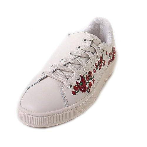 'cherry Bombs' S Puma Basket tsaiSneakers Basses Femme ChQdstr