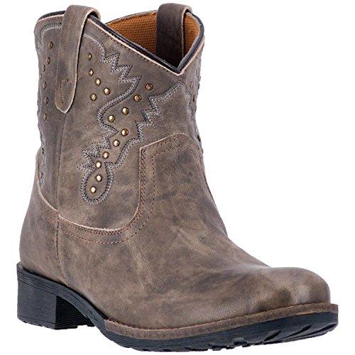 Dingo Tarah DI7317 Womens Taupe Leather 6