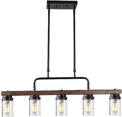 Anmytek Kitchen Island Pendant Lighting - the best living room chandelier for the money
