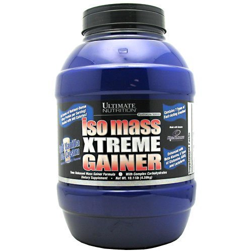 Ultimate Nutrition Platinum Iso Mass Xtreme Gainer Vanilla 10.11lb